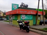 On the way to the Mazurian lakes - great biker cafe
