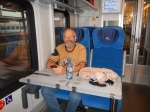 The slow train to Krakov - very comfy indeed