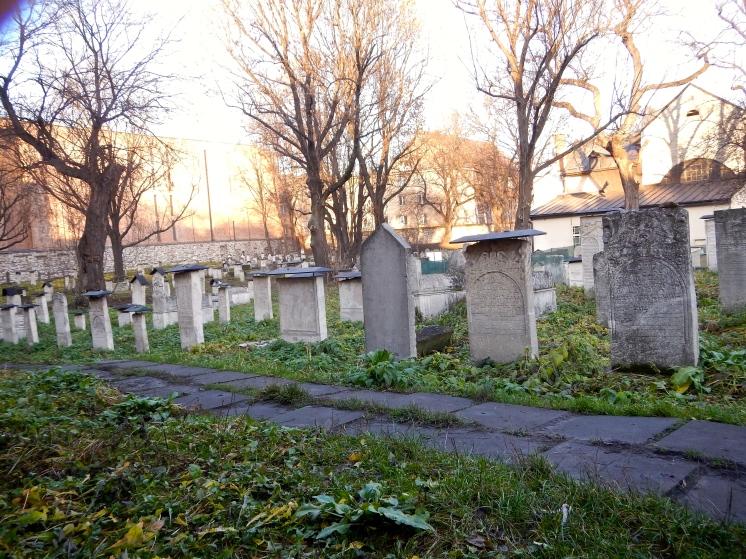 Jewish cemetery graves
