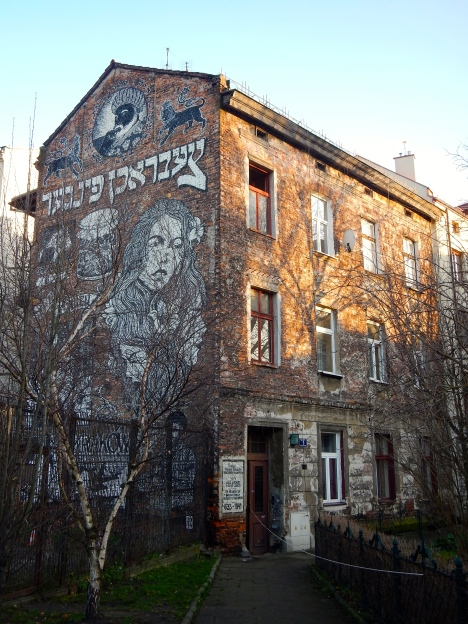 Graffiti in Jewish Quater