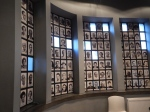 Schindler's factory - a wall of survivors thanks to Oskar Schindler