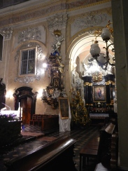 Inside St Stanislaus Church