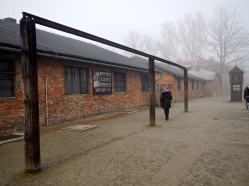 Replica of purpose built gallows for mass hangings