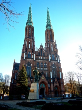 Sts Michael & Florian Cathedral - a lovely example of Gothic style. Built in the late 19th century as a reaction to the building of the Russian Orthodox 5 domed church!!
