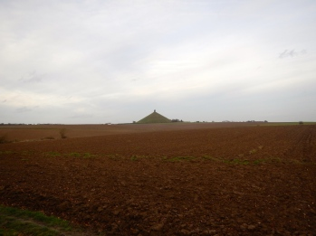 View of Lion Mount form Hougoumont farm. Imagine this full of screaming soldiers and gunfire!