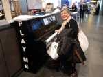 Charleroi Airport - Belgium. Chopin anyone??