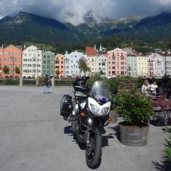 Innsbruck Austria - Looking back towards Old Town