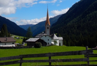 Typical Austrian countryside