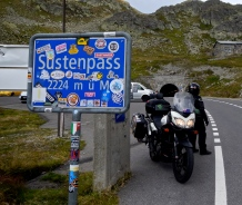 European Alpine Passes, we have now crossed 80 of the top 100 highest :-)