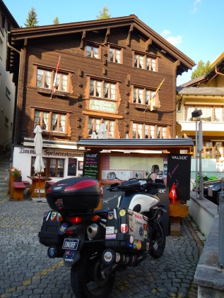 Our accommodation in Andermatt