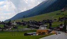 Beautiful mountain village