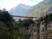 Classic mountain bridge