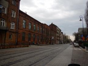 A long, long street in Praga