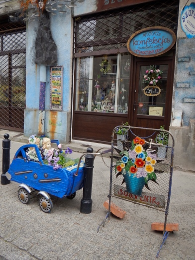 Just a lovely picture outside the florist in Praga
