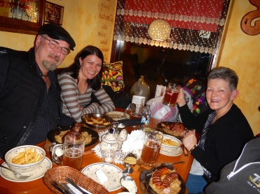 Another great meal with Diana and Greg