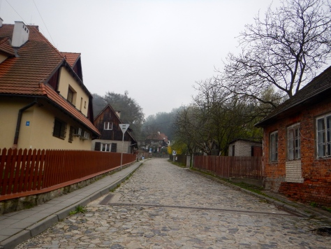 The cobbled streets of Kazimierz Dolmy