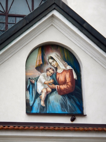 Lovely painting on the Church of the Annunciation