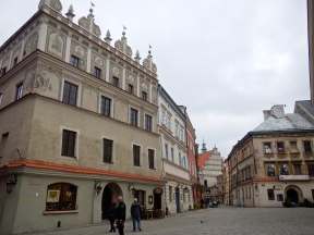 Another angle of the market square - Gracious old buildings