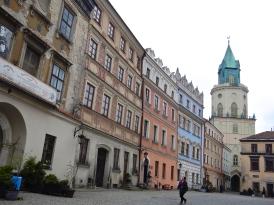 Market square in Lublin