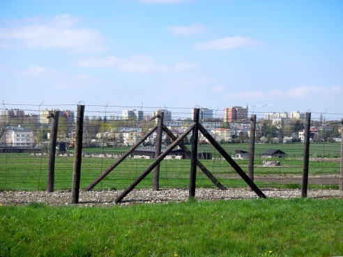 Majdanek, unlike other concentration camps was not hidden. It was close to and in full view of Lublin