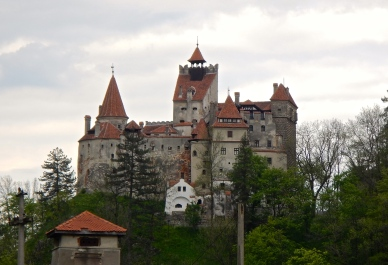 Bran Castle ... aka... Dracula's Castle - first mentioned in 1337! It is located about 30km from Brasov