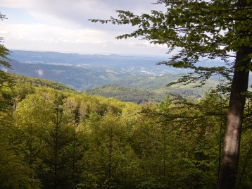 High up in the mountains of Bulgaria - stunning views