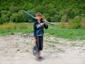 Goin fishin in the Raut river gorge