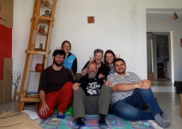 We stayed in Chisinau with Irena and Maxim (to our left) .... thanks guys!