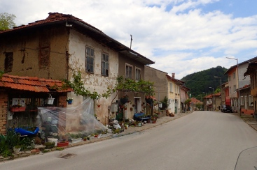 One of many beautiful villages we passed through