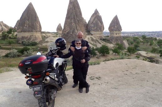 The fairy chimney rocks near Goreme - there are SO many of them. Monks carved dwellings and lived inside.. rarely did they come out. They were supported by the local community