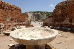 Ruins of the Church of Mary (The Council Church) - at Ephesus - early 5th century
