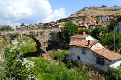 One of many very old bridges still standing in a Turkish village