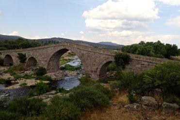 14th century Hüdavendigar Bridge near Behramkale