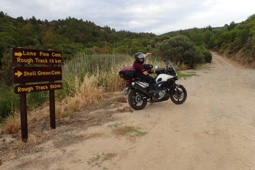 The Vstrom enabled us to go to many places