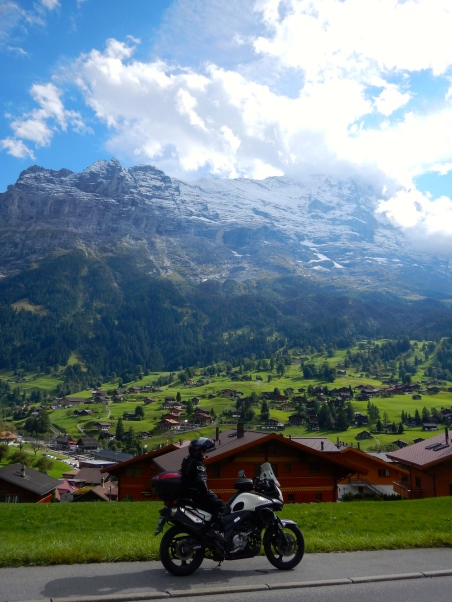 Some of the stunning countryside on the way to Grindelwald