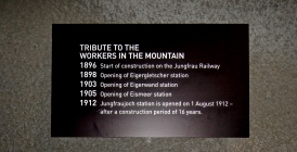 Timeline of the building of the Cog Railway