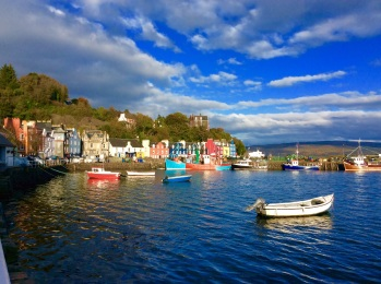 Scotland - Tobermory - birthplace of my great x 3 grandfather, who was given a 'free passage' to Australia fro stealing 15 guineas.. lucky he did or I would not be here!