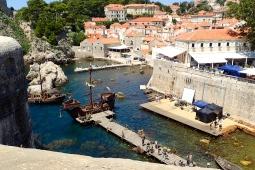 Croatia - Dubrovnik - on set of a new movie