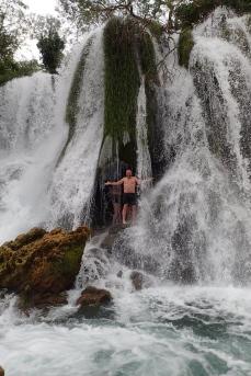 Bosnia - water falls near Medugoje