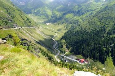 The roads bikers dream of in Romania