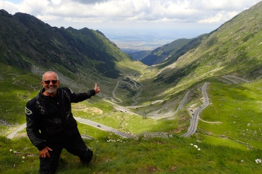 Romania, Transylvania - Trans Fagarasan road - a bikers dream and according to Top Gears - The Worlds Best Drivers Road