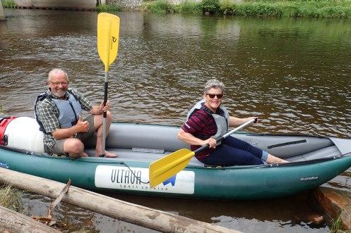 Czech Republic - Ready to face the rapids !! Ceskykrumlov