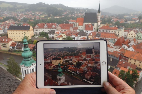 Czech Republic - Ceskykrumlov from above