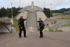 Proposed Olympic ski jump in Oslo, Norway- now that's b;body BIG
