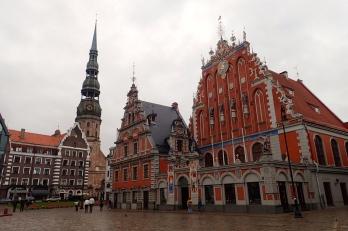 Old town of Tallin in Estonia
