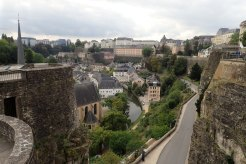 Luxembourg from the town wall