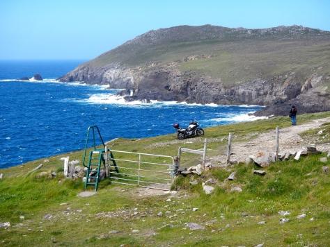 Rock coastline of Dingle Peninsula