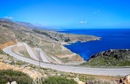 The beautiful South Coast of Crete