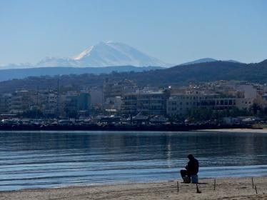 The lone fisherman - Crete's North Coast