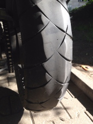 Dunlop Trail Smarts installed in Sweden didn't wear well, suspect soft rubber compound for Nordic countries ?